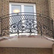 Кованые балконные ограждения в Воронеже